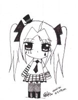 visual kei chibi by peppermintlight