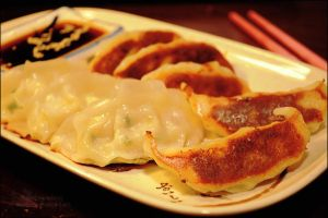 homemade gyoza by asainemuri
