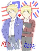 Red White and Blue by camisicado