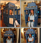 TARDIS Scooter by StephieLuff