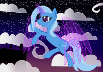 Trixie at the Wonderbolts Academy by deathaura40s