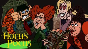 Nostalgia Critic Hocus Pocus by AverageJoeArtwork
