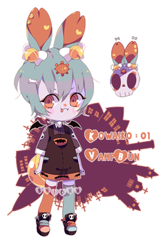 Kowaiko 01 : ADOPT CLOSED : AB'd by shiohh