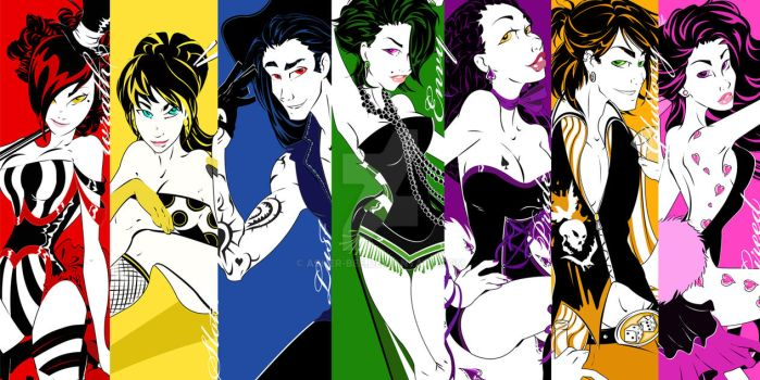 :The Seven Deadly Sinners: by Asher-Bee
