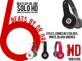Beats by Dr. Dre Solo HD - DL for MMD by RubsSoul
