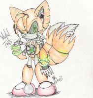 Metal Tails in color by sasmetalla2