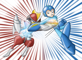 Megaman vs Bisharp