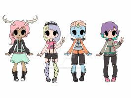 CLOSED    Pastel Batch 1 by Awkward-LifeViews