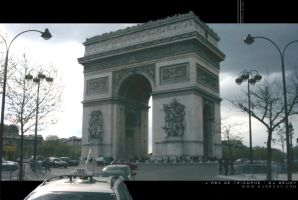 Arc de Triomphe by djgruny
