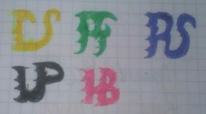 PowerHalfas Emblems Fully Colored by MarieAngel04