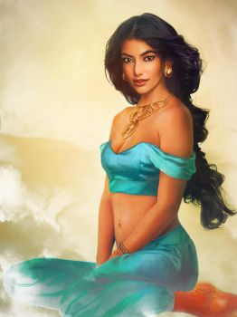 'Real Life' Princess Jasmine by JirkaVinse