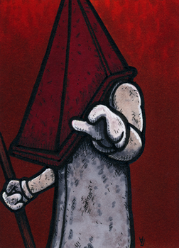 Pyramid Head - Stay With Me by Yamallow