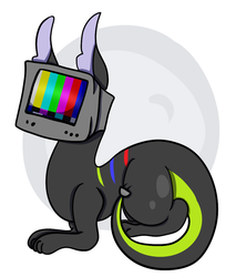 Some TV Head animal by PurpleMyst22