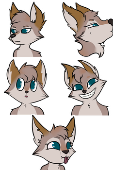 Murana Stickers - By ViccyLove by Darkflame-wolf