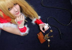Lucy Fairy Tail Christmas Cosplay ^-^ by Lucy-chan90