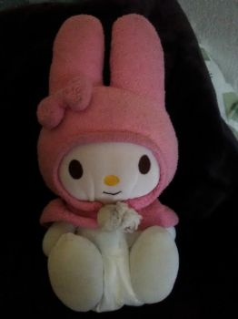 My Melody Plush Diapered by DanielMania123