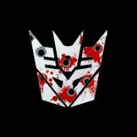 Bullet Hole Decepticon Symbol by Cleafesphere