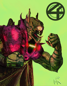 A is for Annihilus by MatthewRoyale