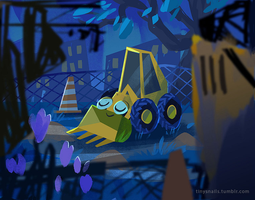 tractor by tinysnail