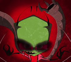 Demon Zim by DarkDivaLocura