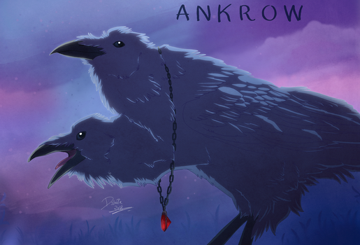 ANKROW - The cabinet of curiosities by Strawberry-Loupa