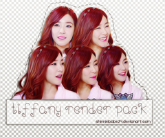 [RENDER PACK] TIFFANY by shinniebabe24