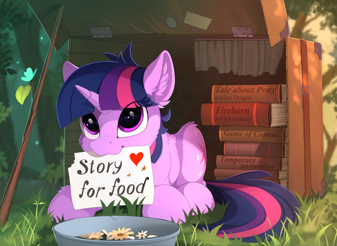 Little storyteller by Yakovlev-vad