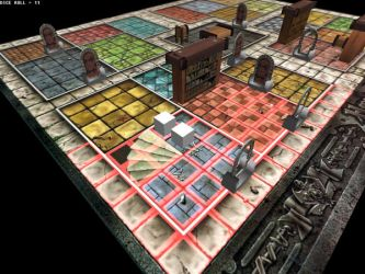 Heroquest Screen 3 by dabein