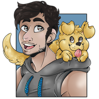Mark and Chica by RottingRoot