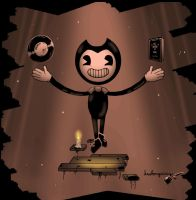 Our Savior (Bendy and the Ink Machine) by Leslongxia