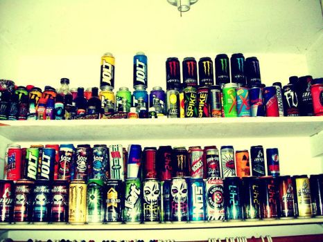 Energy Drink Heaven by maggs2013
