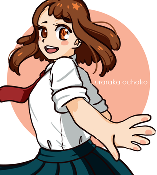 F: Ochako by evilkingrin