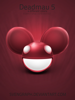Deadmau5 mask icon set by Svengraph