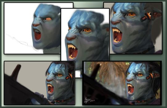 AVATAR step-by-step by kaji02