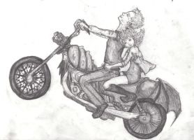 MAGIC flying motorcycle RIDE by k80soccer