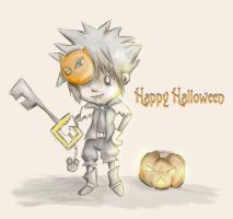 Sora is Halloween by TirzahWood