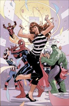 Legacy Party Variant Cover by TerryDodson