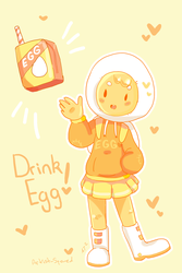 Drink Egg by Artist-squared