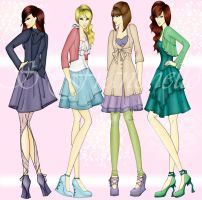 Spring Collection Figures by Selenity