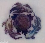 subaqueous rose by loish