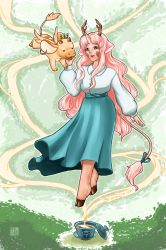 Tea Dragon Society- Chamomile and Minette by MaeMaeTwin