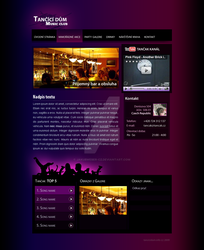 Tancak music club - webdesign by jakubweber-cz