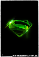 'Kryponite Superman' Poster by DarkoDesign