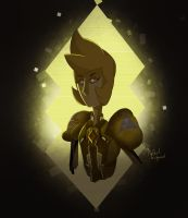 Yellow Diamond by WrekinMoney