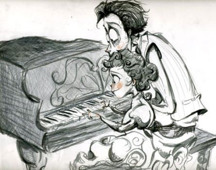 The Piano Player's Daughter by Slinkster-Bat