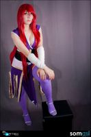 erza scarlet cosplay by ivisama
