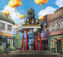 Chinatown by Lubrian