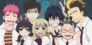 Ao no Exorcist - A good time in Kyoto by ChristianStrange3