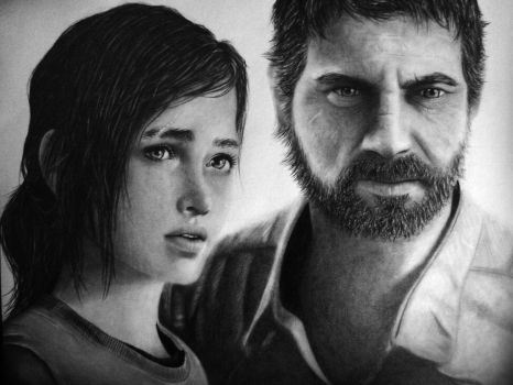 The Last of Us - Ellie and Joel by TricepTerry