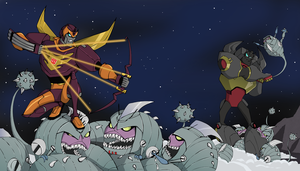 Sharkticons attack by subtilisin